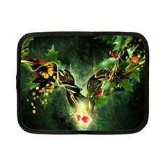 Leaves Explosion Line  Netbook Case (small)