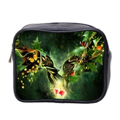 Leaves Explosion Line  Mini Toiletries Bag 2 Side