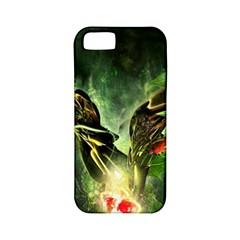 Leaves Explosion Line  Apple Iphone 5 Classic Hardshell Case (pc+silicone)
