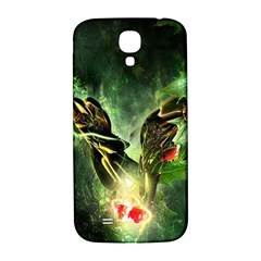 Leaves Explosion Line  Samsung Galaxy S4 I9500/i9505  Hardshell Back Case