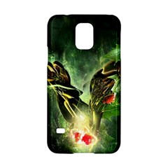 Leaves Explosion Line  Samsung Galaxy S5 Hardshell Case