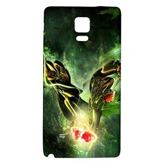 Leaves Explosion Line  Galaxy Note 4 Back Case