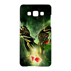 Leaves Explosion Line  Samsung Galaxy A5 Hardshell Case