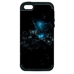 Dark Light Ball  Apple Iphone 5 Hardshell Case (pc+silicone)
