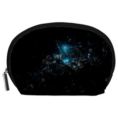 Dark Light Ball  Accessory Pouches (large)