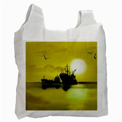 Open Sea Recycle Bag (one Side)