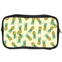 Pineapples Pattern Toiletries Bags