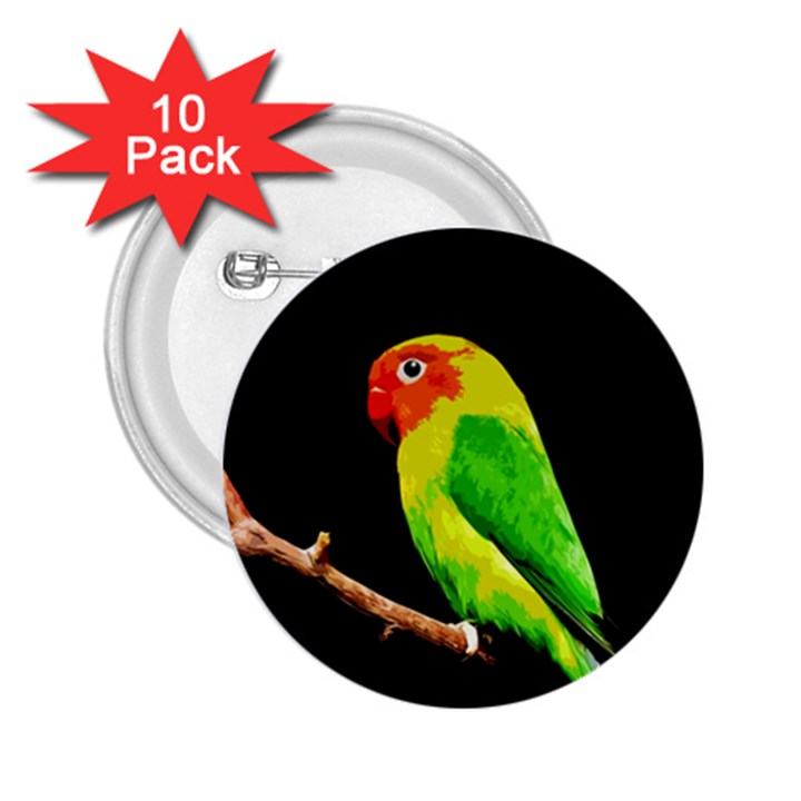 Parrot  2.25  Buttons (10 pack)