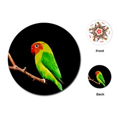Parrot  Playing Cards (round)