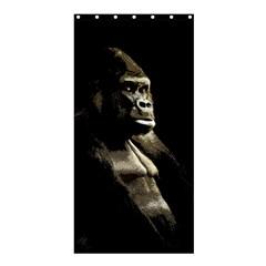 Gorilla  Shower Curtain 36  X 72  (stall)