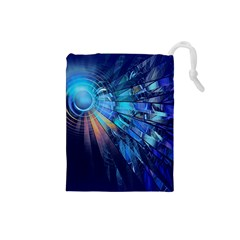 Partition Dive Light 3840x2400 Drawstring Pouches (small)