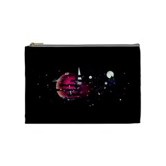 Fragments Planet World 3840x2400 Cosmetic Bag (medium)