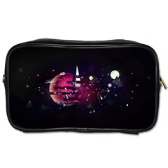 Fragments Planet World 3840x2400 Toiletries Bags