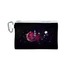 Fragments Planet World 3840x2400 Canvas Cosmetic Bag (s)