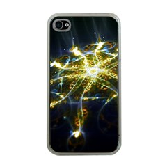 Surface Pattern Light  Apple Iphone 4 Case (clear)