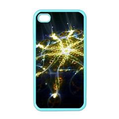 Surface Pattern Light  Apple Iphone 4 Case (color)