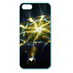Surface Pattern Light  Apple Seamless Iphone 5 Case (color)