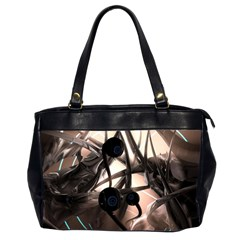 Connection Shadow Background  Office Handbags (2 Sides)