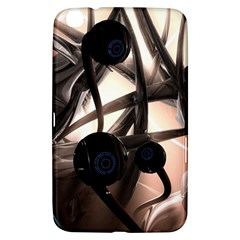Connection Shadow Background  Samsung Galaxy Tab 3 (8 ) T3100 Hardshell Case