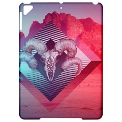 Horns Background Cube  Apple Ipad Pro 9 7   Hardshell Case