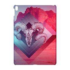 Horns Background Cube  Apple Ipad Pro 10 5   Hardshell Case