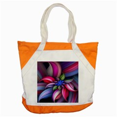 Flower Rotation Form  Accent Tote Bag