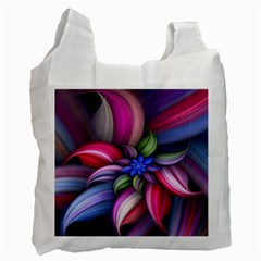 Flower Rotation Form  Recycle Bag (one Side)