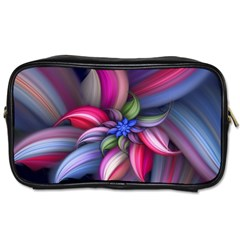 Flower Rotation Form  Toiletries Bags 2 Side