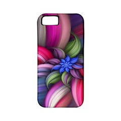 Flower Rotation Form  Apple Iphone 5 Classic Hardshell Case (pc+silicone)