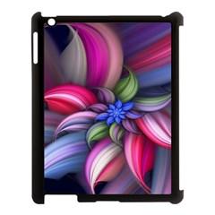 Flower Rotation Form  Apple Ipad 3/4 Case (black)