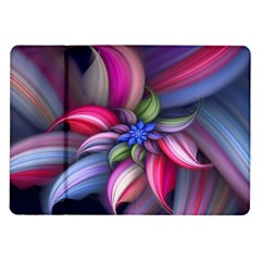 Flower Rotation Form  Samsung Galaxy Tab 10 1  P7500 Flip Case