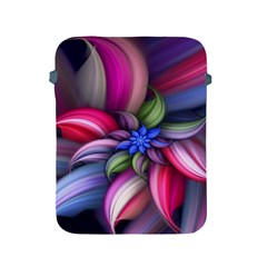 Flower Rotation Form  Apple Ipad 2/3/4 Protective Soft Cases