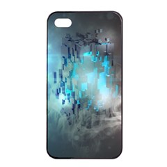 Something Light Abstraction  Apple Iphone 4/4s Seamless Case (black)