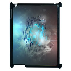 Something Light Abstraction  Apple Ipad 2 Case (black)