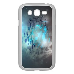 Something Light Abstraction  Samsung Galaxy Grand Duos I9082 Case (white)