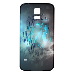 Something Light Abstraction  Samsung Galaxy S5 Back Case (white)