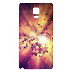 Shards Explosion Energy  Galaxy Note 4 Back Case