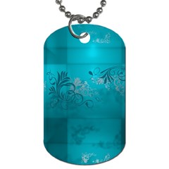 Volume Pattern Abstract Dog Tag (two Sides)
