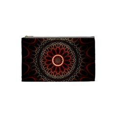 2240 Circles Patterns Backgrounds 3840x2400 Cosmetic Bag (small)