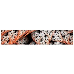 Dots Leaves Background  Flano Scarf (small)