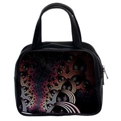 Patterns Surface Shape Classic Handbags (2 Sides)