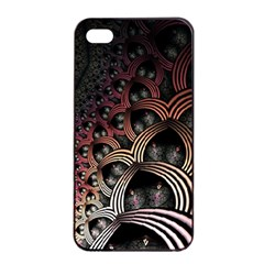 Patterns Surface Shape Apple Iphone 4/4s Seamless Case (black)