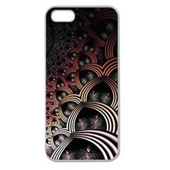Patterns Surface Shape Apple Seamless Iphone 5 Case (clear)