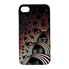 Patterns Surface Shape Apple Iphone 4/4s Hardshell Case With Stand