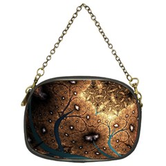 Line Pattern Shape  Chain Purses (two Sides)