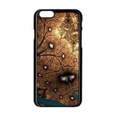 Line Pattern Shape  Apple Iphone 6/6s Black Enamel Case