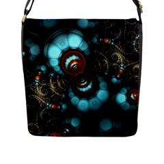 Spiral Background Form 3840x2400 Flap Messenger Bag (l)