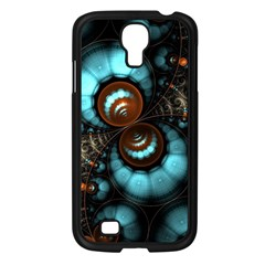 Spiral Background Form 3840x2400 Samsung Galaxy S4 I9500/ I9505 Case (black)