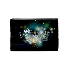 Abstraction Color Pattern 3840x2400 Cosmetic Bag (medium)