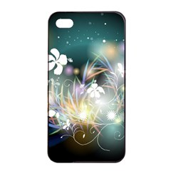Abstraction Color Pattern 3840x2400 Apple Iphone 4/4s Seamless Case (black)
